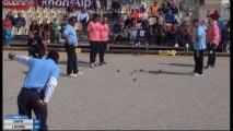 Quelques beaux gestes du 16ème de finale DATH vs LUCIEN International à pétanque de l'Olivier à Nyons