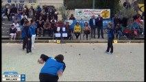 Quelques beaux gestes de la finale féminine de l'International à pétanque de l'Olivier à Nyons