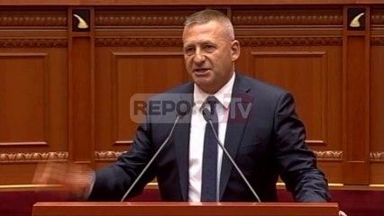 Report TV - Parlament - Gafa e rradhës e deputetit Nard Ndoka