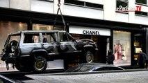 Spectaculaire cambriolage d'une boutique Chanel à Paris