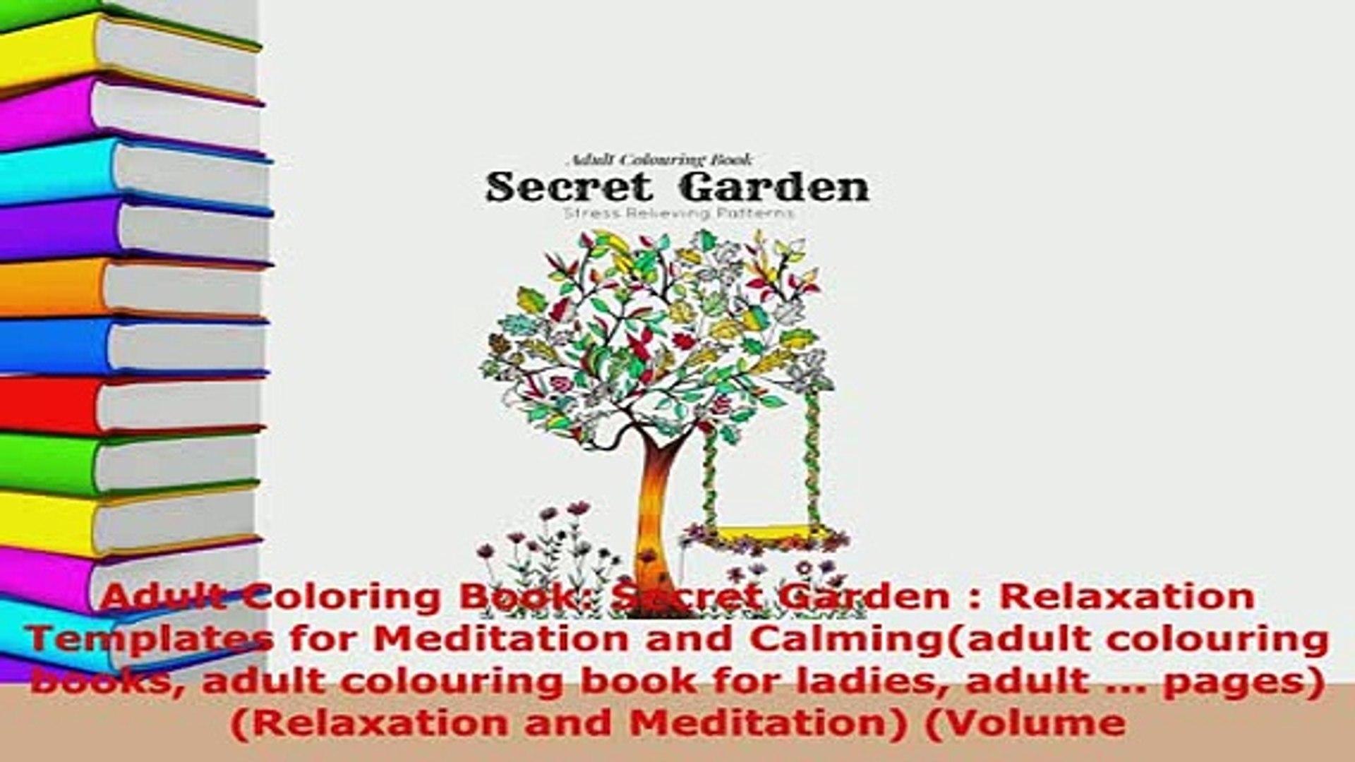 480+ Secret Garden Door Coloring Book HD
