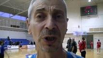 Trener Sasa lilic (ORK Pirot - ORK Bela Palanka 15:19 22.03.2014.)