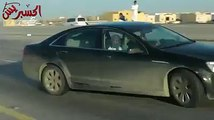 Saudi Drifter Drifts on the HighWay
