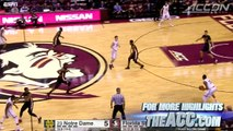 Notre Dame vs. Florida State Womens Basketball Highlights (2015-16)