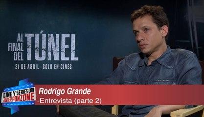 """A solas con Rodrigo Grande, director de """"Al final del túnel"""" por Javier Ponzone"""