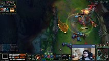 Imaqtpie funny juke with Miss Fortune - League of Legends