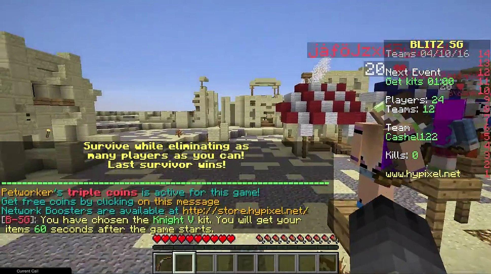 Minecraft Hunger Games  - Them glitches (7)