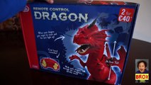 Remote Controlled Dragon - Unboxing Chad Valley remote controlled Red Dragon