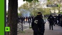 Les heurts lors des manifestations contre la Loi Travail, vus du côté des CRS