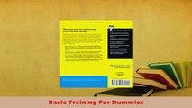 PDF  Basic Training For Dummies Read Online