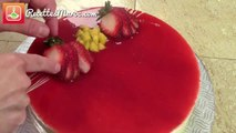 Entremêt Mousse à la Fraise & Mangue - Strawberry & Mango Mousse Dessert - موس الفراولة و مونك