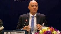 """FIFA - Infantino : """"Nous avons traversé une période difficile"""""""