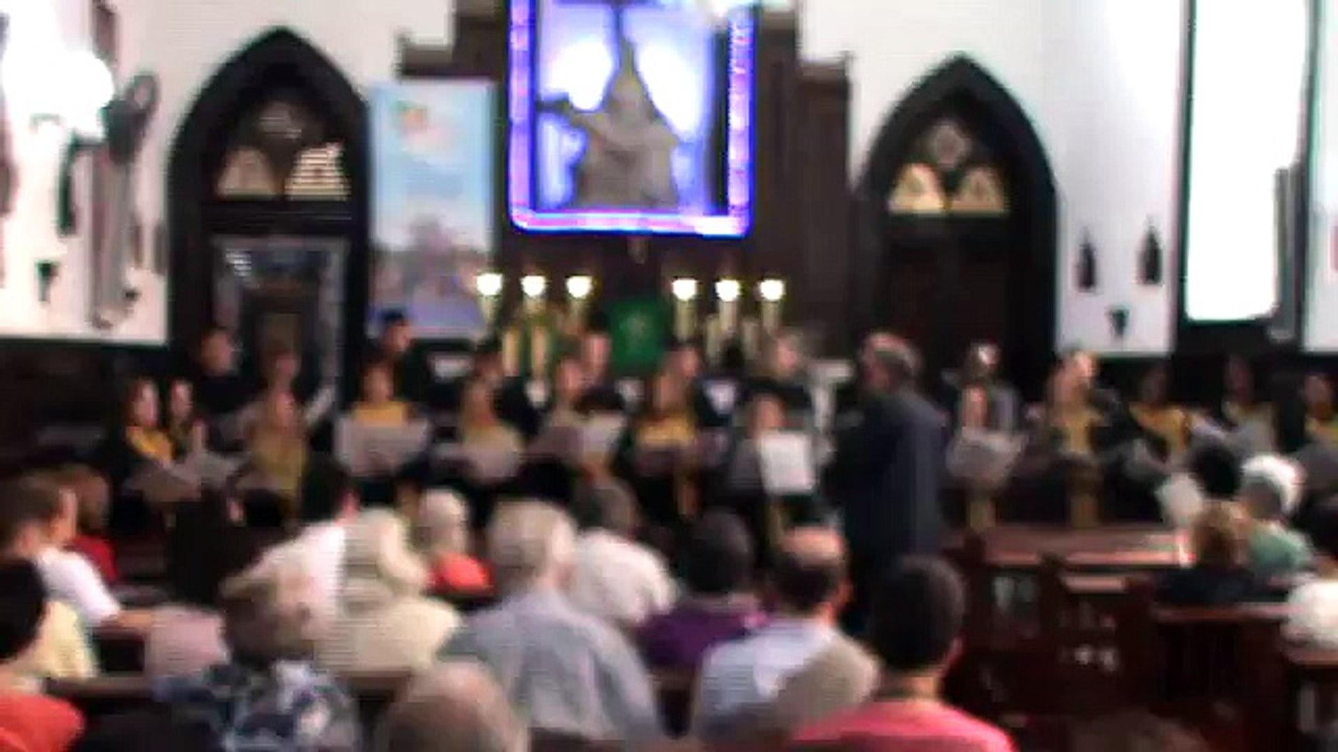 17 06 12 Igreja Católica em  Botafogo   Coral da Cidade de Angra dos Reis 2
