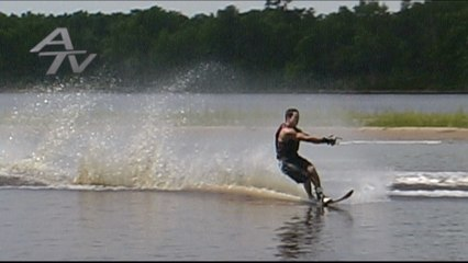 Where'd he go? The missing waterskier.