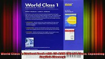 READ book  World Class 1 Student Book with CDROM World Class Expanding English Fluency Full EBook