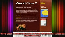 READ book  World Class 2 Student Book with CDROM World Class Expanding English Fluency Full Ebook Online Free