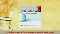 PDF  Phlebotomy A Competency Based Approach Read Online
