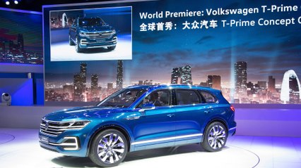 Volkswagen T-Prime Concept GTE World Premiere - The future of the VW Touareg | ATMO | Test | No Voice