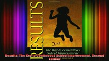 DOWNLOAD FREE Ebooks  Results The Key to Continuous School Improvement Second Edition Full Free