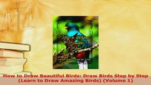Download  How to Draw Beautiful Birds Draw Birds Step by Step Learn to Draw Amazing Birds Volume Free Books