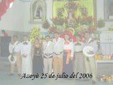 fotos  de la fiesta del Sr Santiago Azoyu 25 de julio