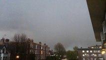 La foudre frappe un avion en plein vol à Londres !