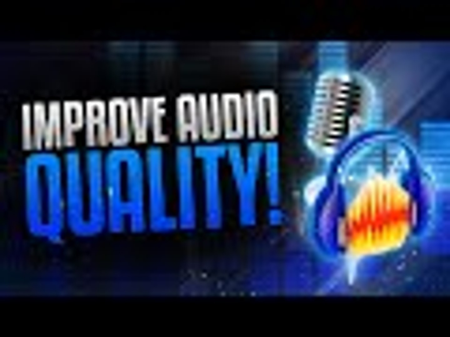 How to Make Your Voice/Audio Sound Better! Audacity Background Noise  Removal Tutorial! (2015/2016)