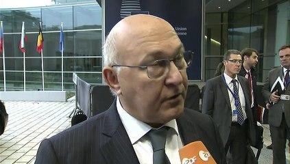 Archive - Michel Sapin - Déclaration avant l'Ecofin