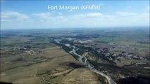 Fort Morgan Airport (KFMM) Landing rwy14. (Fort Morgan, CO #28 of 67)