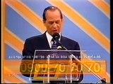 """Carlos Navas no Programa """"Domingo Milionário"""" com Jota Silvestre (22/03/98)"""