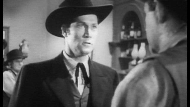 1947 JESSE JAMES RIDES AGAIN SERIAL TRAILER - CLAYTON MOORE
