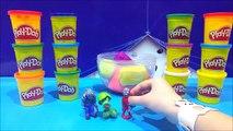 Play Doh Plants vs Zombies Toys Action Figure Surprise Egg Video Plantas vs Zombies Juguet