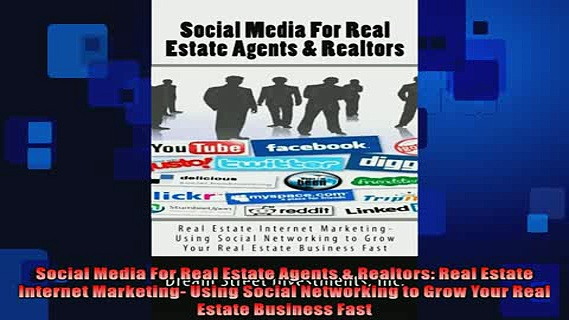 READ book  Social Media For Real Estate Agents  Realtors Real Estate Internet Marketing Using  FREE BOOOK ONLINE