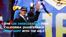 Los Angeles Rams make Jared Goff No. 1 pick in 2016 NFL Draft