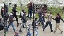 Baston entre manifestants à Nantes le 28/04 - Avec en prime une balayette cosmique!