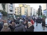 Napoli - Da dieci giorni senza energia elettrica, protesta ai Colli Aminei (28.04.16)