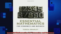 READ book  Essential Mathematics for Economics and Business  FREE BOOOK ONLINE