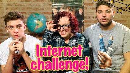 Internet challenge! ft. Juan&Nico Vlogs   Juliiinthesky