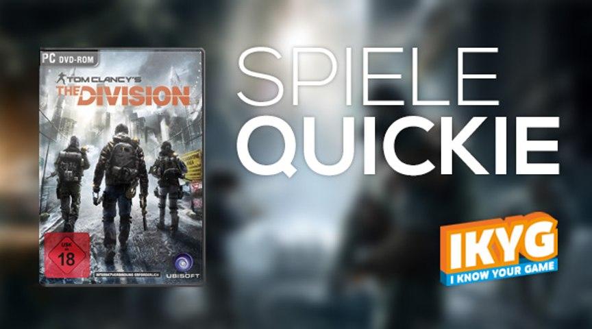 Der Spiele-Quickie - Tom Clancy's The Division