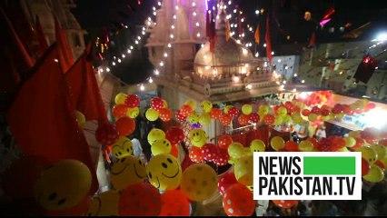 ہندو برادری کی جانب سے پاکستان میں مذہنی تہروا آزادی سے منایا گیا