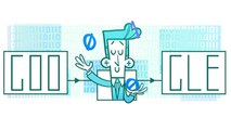 Google Doodle: Claude Shannon in 60 seconds