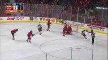 Anaheim Ducks at Calgary Flames Hampus Lindholm Goal 2-15-2016