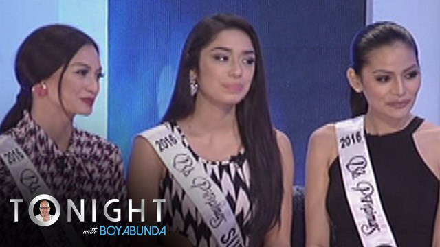 """TWBA: Boy Abunda to our beauty queens """"Why do you aim for Ms. Universe?"""""""