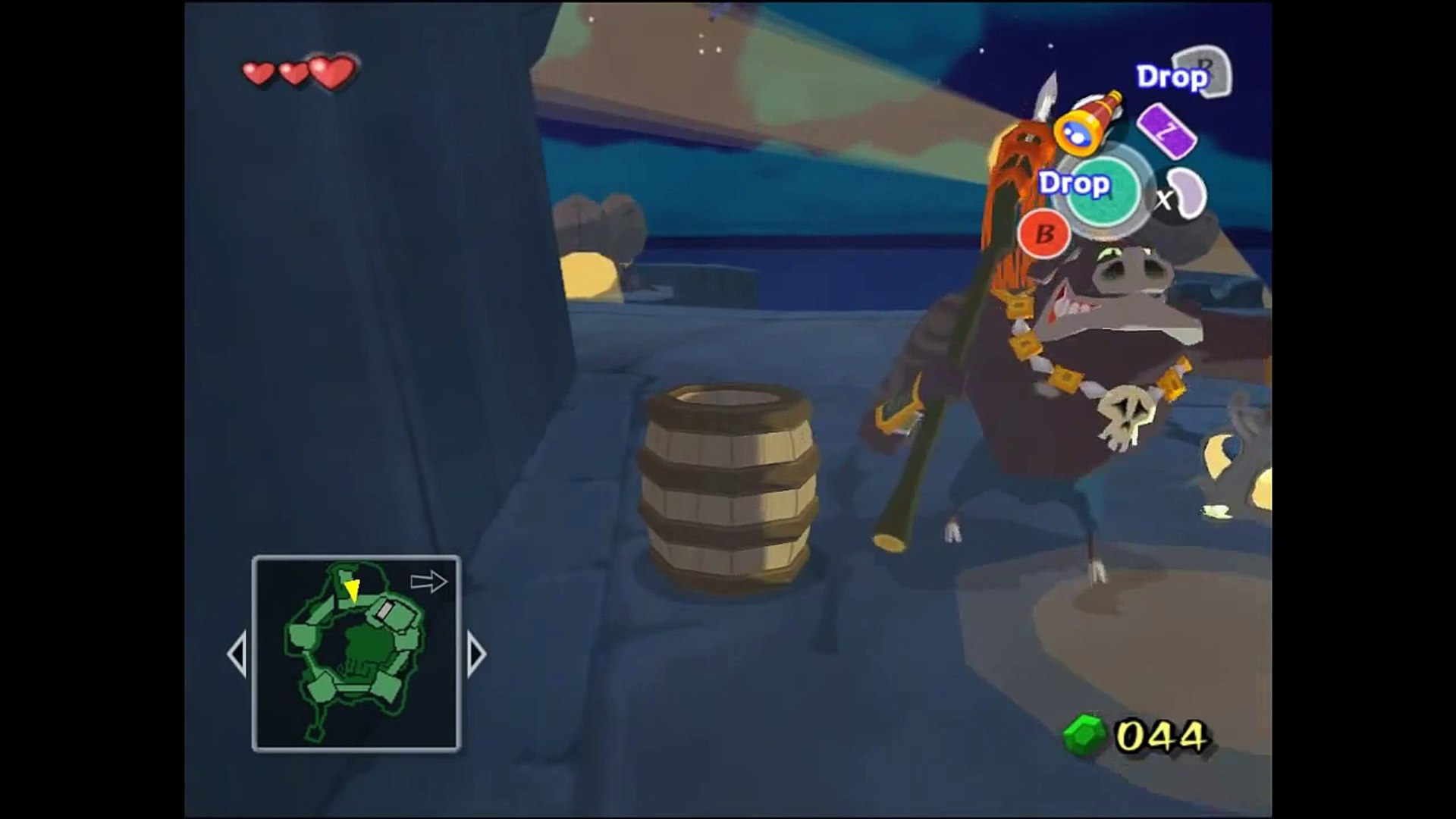 The Legend Of Zelda Wind Waker on Dolphin 22-60Fps