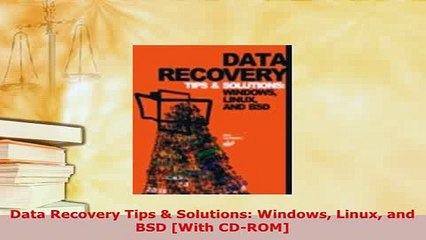 PDF Data Recovery Tips Solutions Windows Linux and BSD With