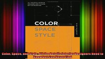 FAVORIT BOOK   Color Space and Style All the Details Interior Designers Need to Know but Can Never Find  FREE BOOOK ONLINE