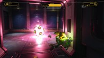 Ratchet & Clank 2016 - Novalis: Caves Combuster Insect Bots Combat (Head to Mechanic) Gameplay