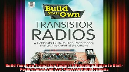 transistor radios 1954 1968 a schiffer book for collectors