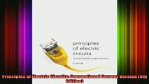 FREE PDF DOWNLOAD   Principles of Electric Circuits Conventional Current Version 9th Edition  FREE BOOOK ONLINE