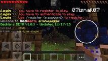 Minecraft Pocket Edition [PE] 0.13.1 Nasıl Bedwars Oynanır Bedwars Sunucusu Ip Adres